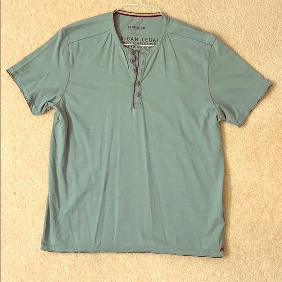 Jeremiah Other - Jeremiah Henley short sleeve t shirt